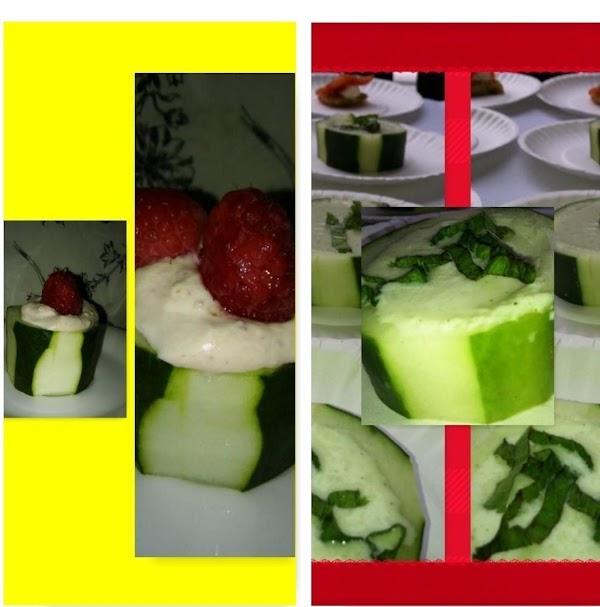 Cucumber Soup Bowls Recipe