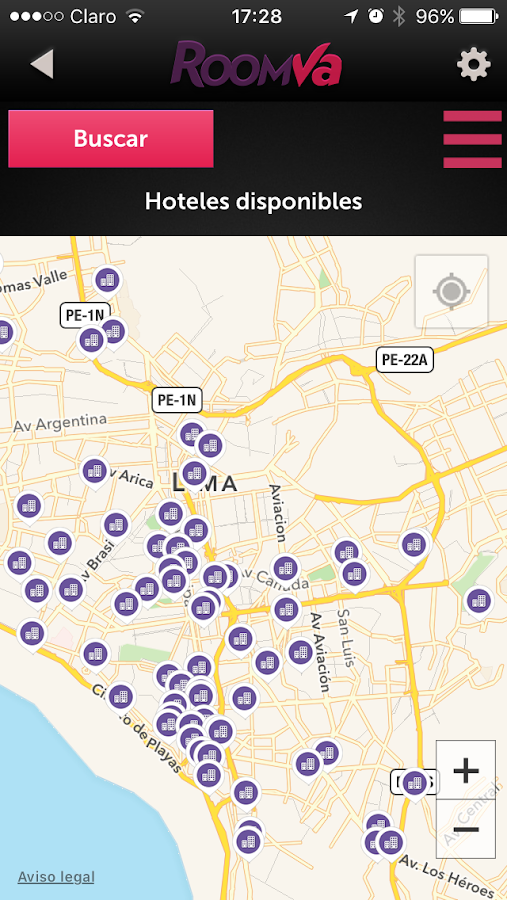 Roomva last minute hotels android apps on google play for Last minute designhotel