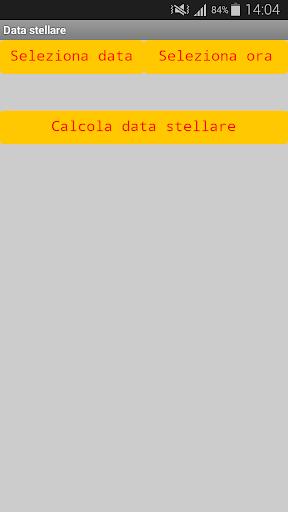 Data stellare