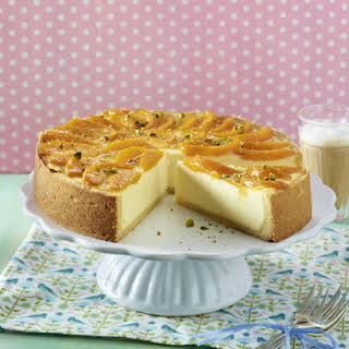 No Bake Peach Cheesecake Recipes.