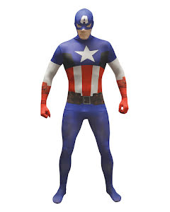 Morphsuit, Captain America