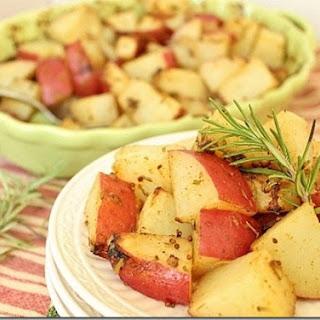 Rosemary Dijon Roasted Potatoes