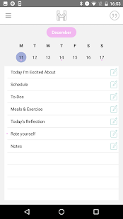 The Happiness Planner- screenshot thumbnail