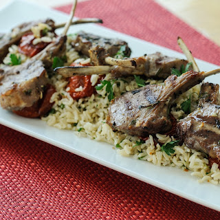 Grilled Marinated Lamb Chops