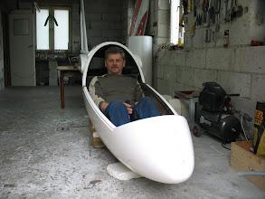 Photo: już można potrzymać za drąga, maj 2007