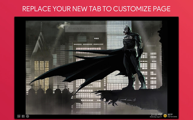 Batman New Tab