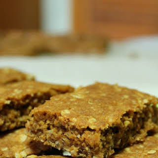 Nutty Anzac Slice.
