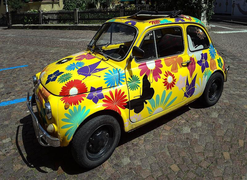 """Una """"hippy"""" 500 di Diana Cimino Cocco"""