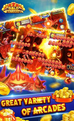 Gold Storm Casino - Asian Fishing Arcade Carnival 1.0.54 screenshots 3