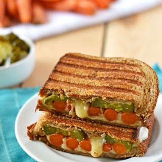 Roasted Carrot Grilled Cheese