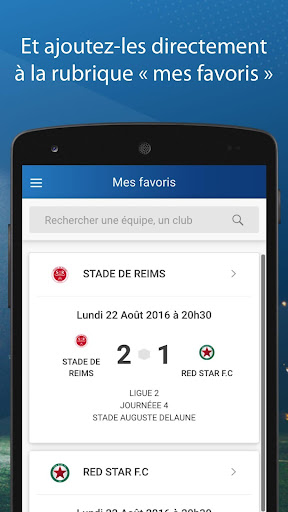 Le Foot Amateur, Matches & Ligues 3.0.9 screenshots 3