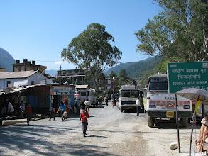 Photo: A part of Uttarkashi town