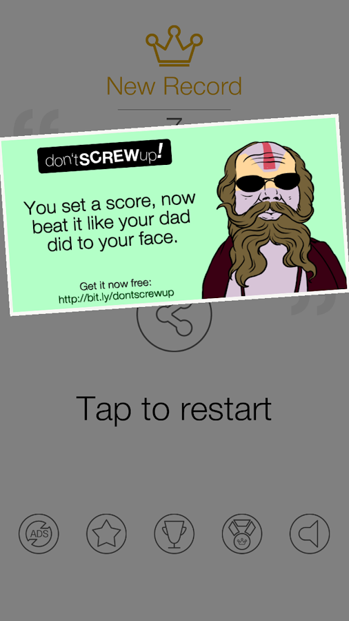 Don't Screw Up!- screenshot