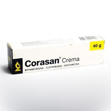 Corasan Crema Tubo x40G.   Incobra Clotrimazol Betametasona Gentamicina-