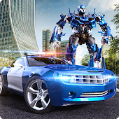 Robot Hero Police Car Transform