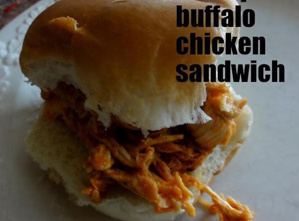 Hooters Style Buffalo Chicken Sandwich Recipe