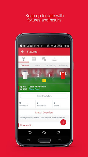 Fan App for Rotherham FC