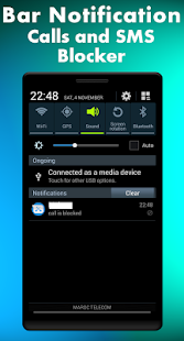 Unwanted call and SMS blocker  - blacklist - náhled