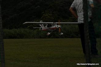 Photo: 着陸もすんなりですね。