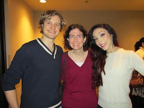 Photo: With Meryl Davis and Charlie White