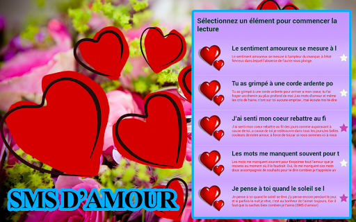 ♥♥+1000 SMS Message d'amour ♥♥