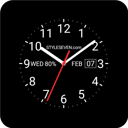 Analog Watch Face-7 for Wear OS by Google - Apps on