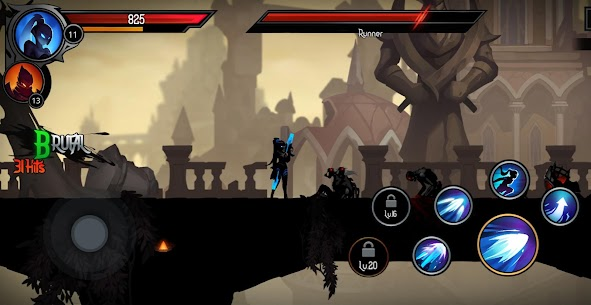 Shadow Knight MOD APK Deathly Adventure [Immortality + Mod Menu] 8