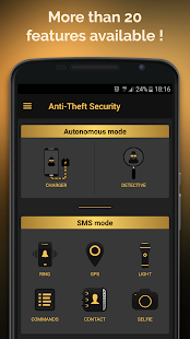 Anti-Theft Security Screenshot