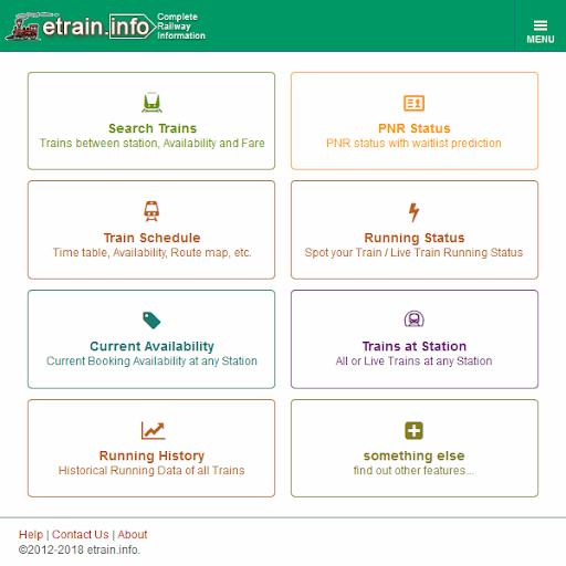 Indian Railways @etrain info - Revenue & Download estimates - Google