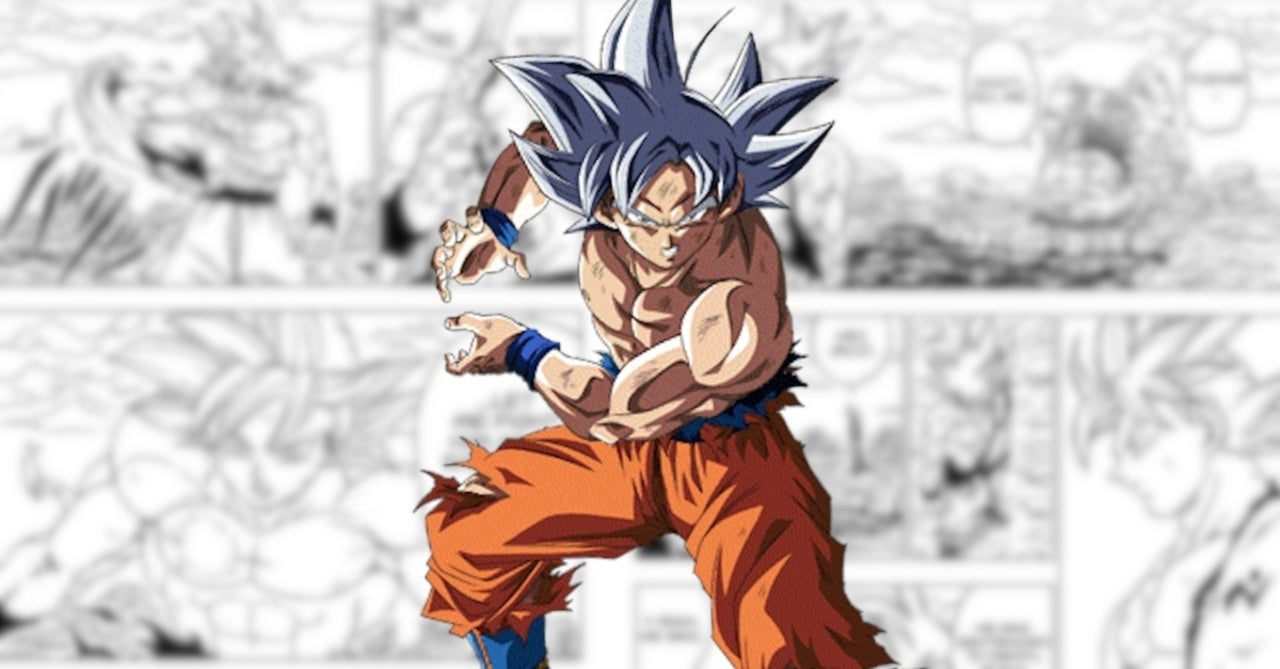 Dragon Ball Super Season 2 Goku looking scary