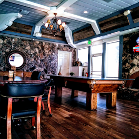 The Boom Boom Room by Carlo McCoy - Instagram & Mobile Android ( play, compete, classy billiards, rooms, private, flooring, tv, mirror, mature, inside, fireplace, interior, polished, tables, rocks, decor, games, chairs, wood, indoor photography, lights, smooth, architecture, gaming, pool, rock walls, windows, billiards, leather, sunlight, gentlemens lounge, indoor, white colors )