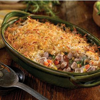 Pork and Hash Brown Shepherd's Pie