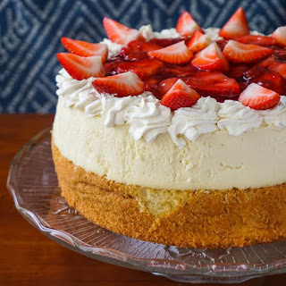 Strawberry Shortcake Cheesecake.