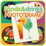 Foods and drinks photo frame