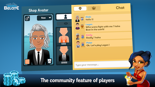 Multiplayer Belote & Coinche 6.5.0 screenshots 6