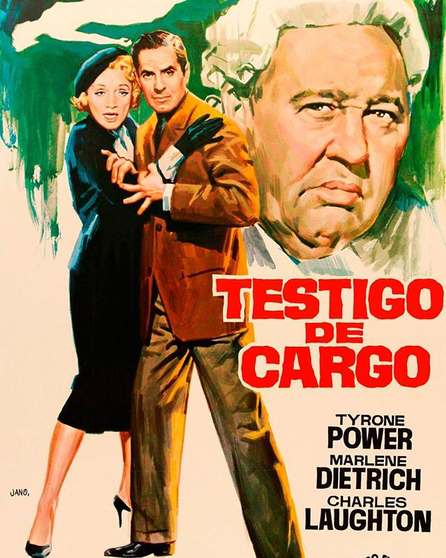 Testigo de cargo (1957, Billy Wilder)
