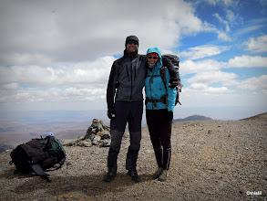 Photo: první dochovaná vrcholovka. Déčka na MGounu 4071m