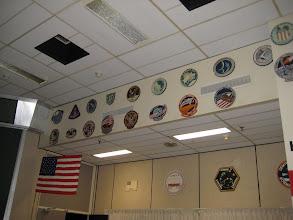 Photo: Mission Insignia of Mercury, Gemini, Apollo, Skylab & early Shuttle missions