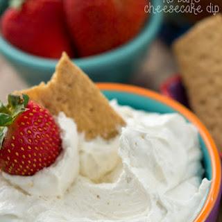 Skinny Cheesecake Dip Recipe
