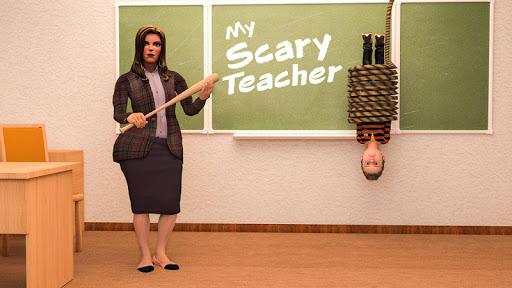 Scare Scary Evil Teacher 3D: Spooky & Creepy Games 1.0.4 screenshots 4