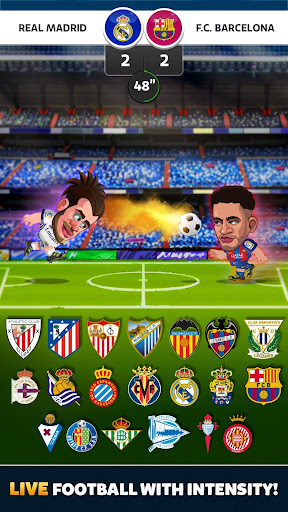 Head Soccer La Liga 2018 screenshot 1