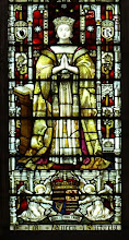 Photo: Detail 2 - Queen Victoria, Stained glass window West front Hereford Cathedral - 1902