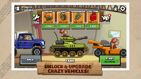 Hill Climb Racing 2 1.15.1 MOD (Unlimited Money) 1
