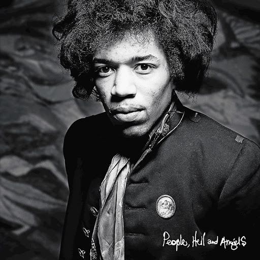 The cover of the new Jimi Hendrix album 'People, Hell and Angels', a collection of 12 of his previously unreleased studio performances