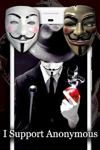 Anonymous Mask Photo Editor Free 5