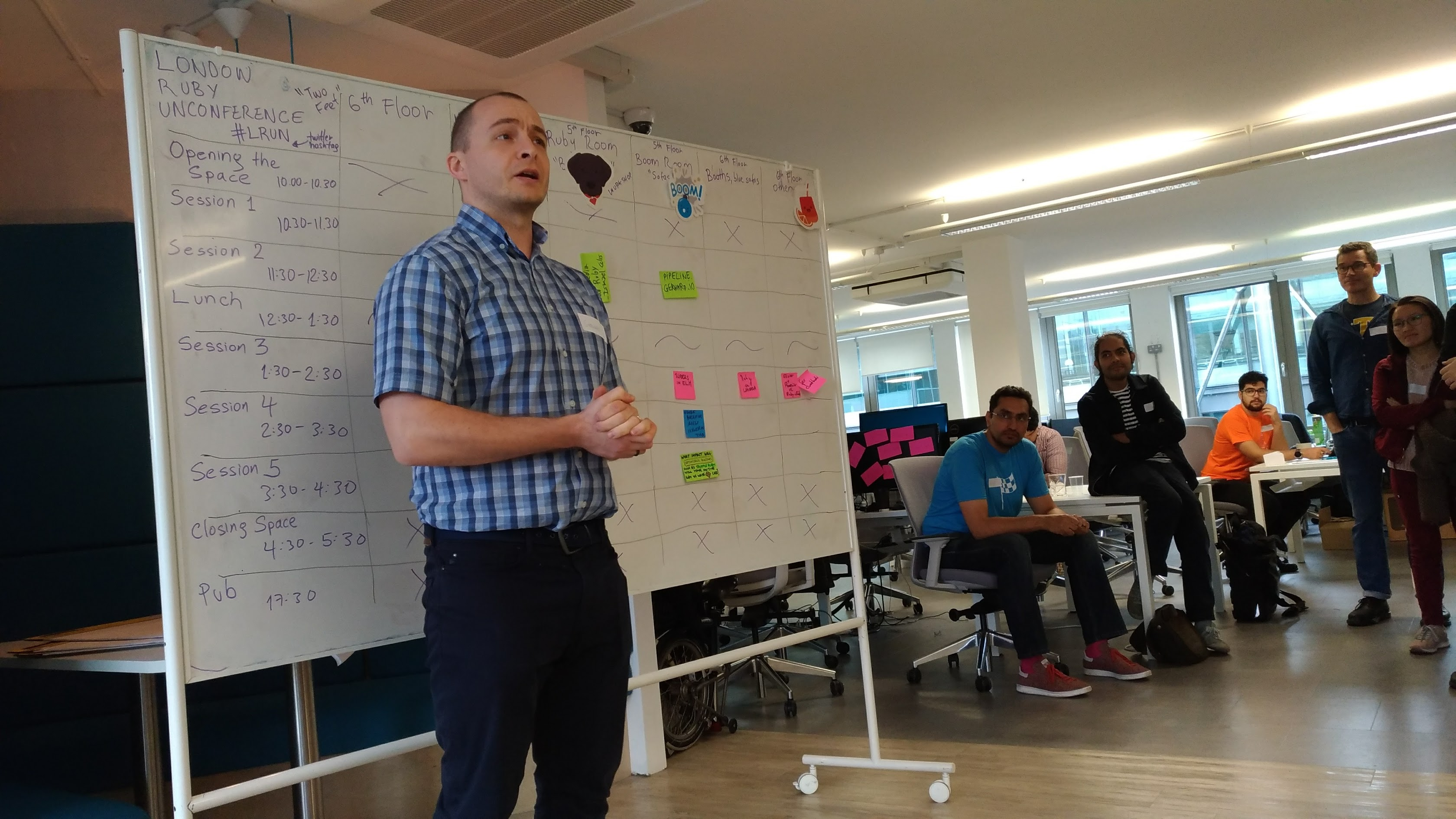 London Ruby Unconference 2017