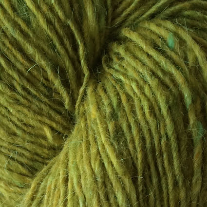 Isager Tweed, Lime
