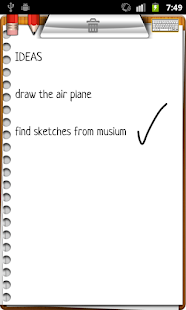 NoteMaster NotePad + draw pad- screenshot thumbnail