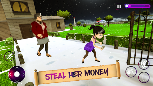 Scary Evil Teacher Game Creepy Spooky Game apktram screenshots 6