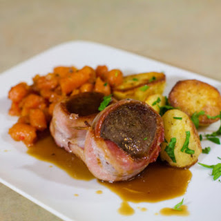 How to Cook Bacon-Wrapped Venison Chops.